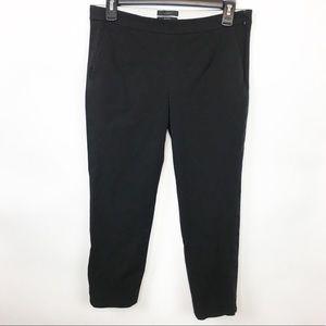 J. Crew Black Martie Slim Crop Pants